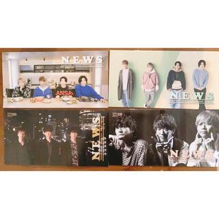 ニュース(NEWS)のNEWS 会報 No.32-33-35-36(アイドルグッズ)