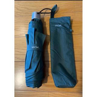 ウォーターフロント 折りたたみ傘  カーキ 傘 お洒落 便利 雨 軽い ビジネス(傘)