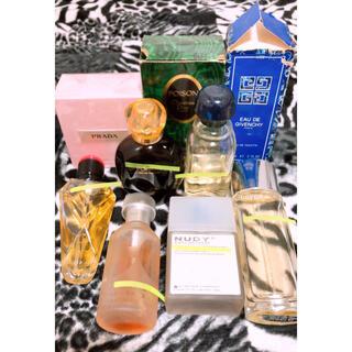 クリスチャンディオール(Christian Dior)のディオール ジバンシイ プラダ サンローラン他香水(香水(女性用))