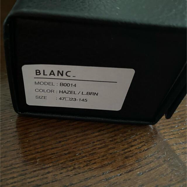 TOMORROWLAND(トゥモローランド)の新品 BLANC..  ブラン  サングラス レディースのファッション小物(サングラス/メガネ)の商品写真