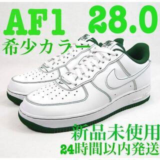 NIKE - ナイキ エアフォース1 07 白 緑 AIR FORCE 1 LOW スニーカー