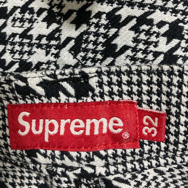 Supreme(シュプリーム)のsupreme Houndstooth Logos  ジャケットのみ メンズのジャケット/アウター(ブルゾン)の商品写真