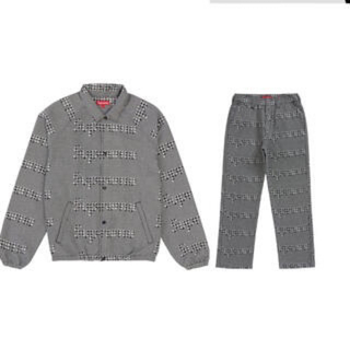 Supreme - supreme Houndstooth Logos セットアップ