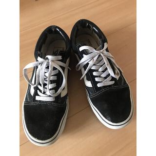 VANS - Vans Old Skool Black White 25センチ