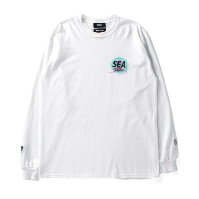 MIHARAYASUHIRO(ミハラヤスヒロ)の【Lサイズ】 WIND AND SEA MYne / LOGO LONG メンズのトップス(Tシャツ/カットソー(七分/長袖))の商品写真