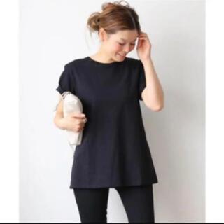 DEUXIEME CLASSE - 新タグ ドゥーズィエムクラス黒【CALUX/キャラクス】A LINE Tシャツ