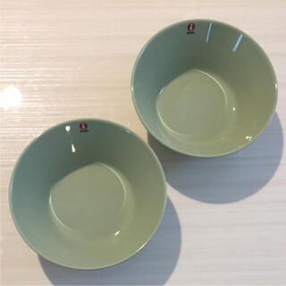 iittala - 【新品2枚】廃盤カラー イッタラ ティーマ セラドングリーン 15㎝ ボウル