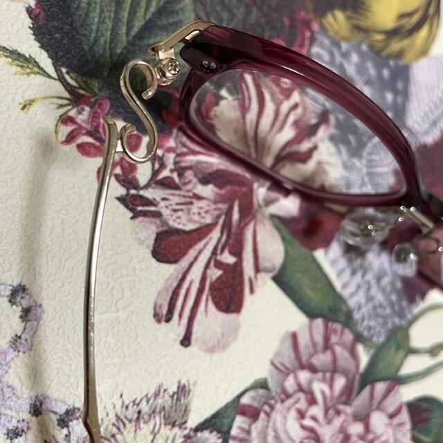 999.9(フォーナインズ)のフォーナインズ  999.9 NPM-36  フレーム 度付き ボルドー ワイン レディースのファッション小物(サングラス/メガネ)の商品写真