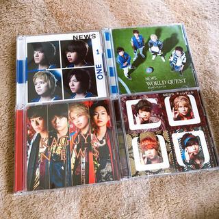 ニュース(NEWS)のNEWS CD4枚セット(アイドルグッズ)