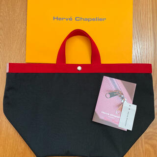 Herve Chapelier - 【美品】エルベシャプリエ 725CO ノワール×パプリカ×ドラジェ