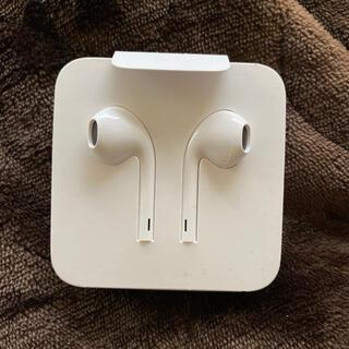 アップル(Apple)のApple 純正 イヤホン 未使用(ヘッドフォン/イヤフォン)