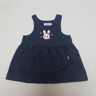 mikihouse - ミキハウス☆ジャンパースカート 80 デニム