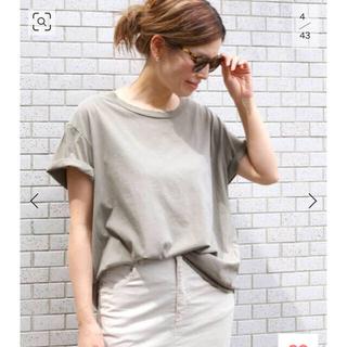 ドゥーズィエムクラス(DEUXIEME CLASSE)のDeuxieme Classe Loose Tシャツ グリーン(Tシャツ(半袖/袖なし))