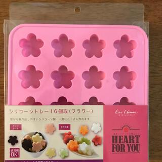 カイジルシ(貝印)の貝印 シリコントレー フラワー型 製菓用(調理道具/製菓道具)