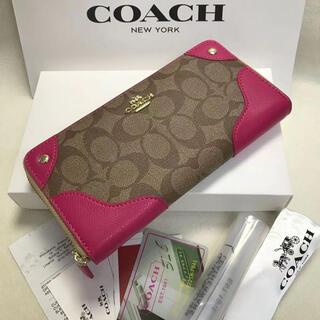 COACH - 新品未使用 COACH コーチ 長財布 F53780