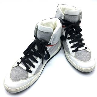 DIOR HOMME - ディオール・オム 靴 シューズ スニーカー 紐靴 メンズシューズ ホワイト