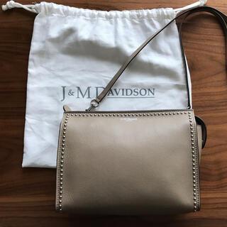 J&M DAVIDSON - J&M DAVIDSON  エルウィズスタッズ ショルダー クラッチバック