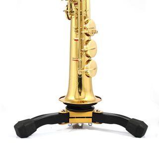 ⭐新品⭐木管楽器スタンド⭐ソプラノサックス フルート クラリネット オーボエ 黒(フルート)