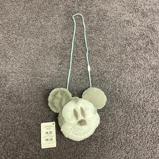 ディズニー(Disney)のミッキー フェイクファー ショルダーバッグ ポシェット(その他)