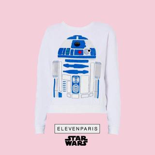 イレブンパリ(ELEVEN PARIS)のELEVEN PARIS × STAR WARS R2-D2 スウェット XS(トレーナー/スウェット)