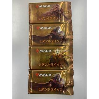 マジック:ザ・ギャザリング - mtg モダンホライゾン 4パック 日本語 ブースター 送料無料