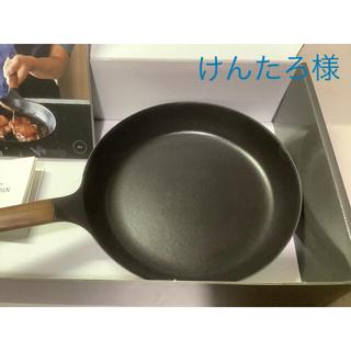 バーミキュラ(Vermicular)のバーミキュラ FRYIG PAN ♯26 walnut 新品 フライパンのみ(鍋/フライパン)
