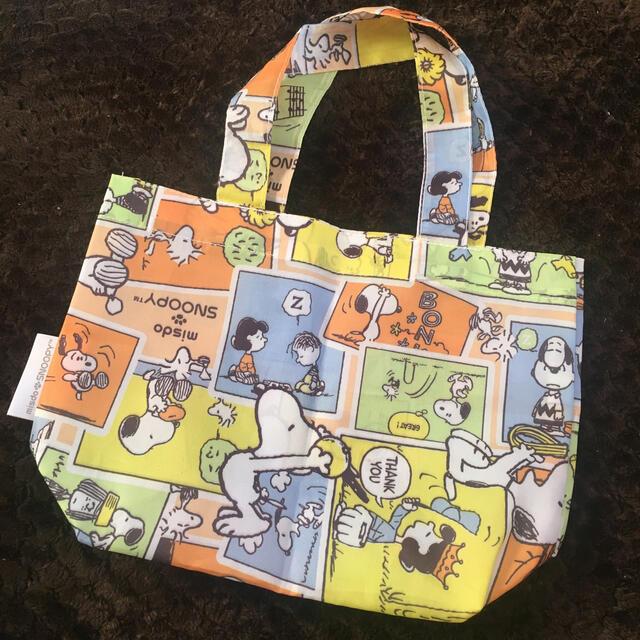 SNOOPY(スヌーピー)のスヌーピー ミスド バッグ レディースのバッグ(エコバッグ)の商品写真