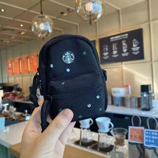スターバックスコーヒー(Starbucks Coffee)の【スターバックス海外限定】小銭入れ ミニーバック カバン リュックサック 一点(コインケース/小銭入れ)
