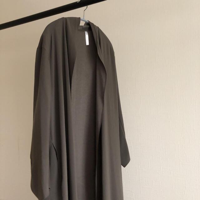 DEUXIEME CLASSE(ドゥーズィエムクラス)の新品 Deuxieme Classe Col Pierrot ガウン コート レディースのジャケット/アウター(ガウンコート)の商品写真