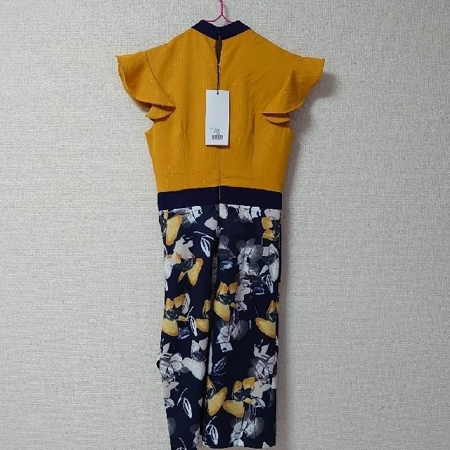 JEWELS(ジュエルズ)の◆JEWELS♡色っぽマスタードカラーミニドレス◆ レディースのフォーマル/ドレス(ミニドレス)の商品写真