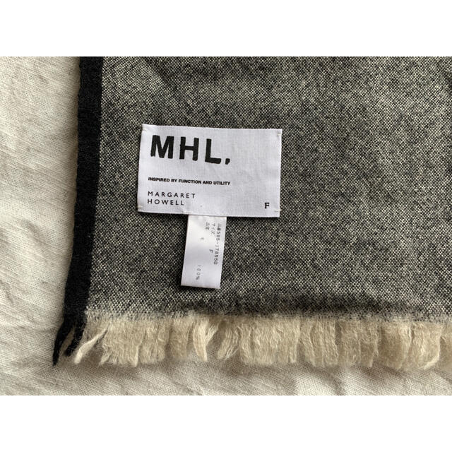 MARGARET HOWELL(マーガレットハウエル)のマーガレットハウエル マフラー 2枚セット レディースのファッション小物(マフラー/ショール)の商品写真