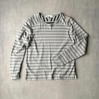 マーガレットハウエル(MARGARET HOWELL)のM.H.L. メンズ ボーダーカットソー(Tシャツ/カットソー(七分/長袖))