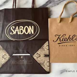 サボン(SABON)のSABON Kiehl's ショップ袋(ショップ袋)