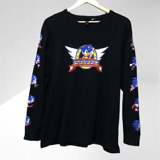 エイチアンドエム(H&M)のH&M ソニック コラボ ゲーム SEGA ロングTシャツ(Tシャツ/カットソー(七分/長袖))