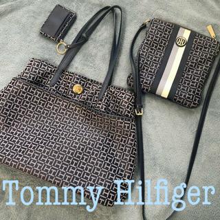 TOMMY HILFIGER - Tommy Hilfiger バッグ3点セット (トート・ショルダー・定期入)