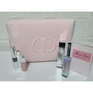 Christian Dior - ディオール ピンクポーチ サンプル3点セット