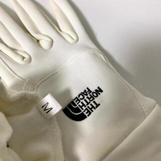 THE NORTH FACE - ノースフェイス 手袋 白 Mサイズ