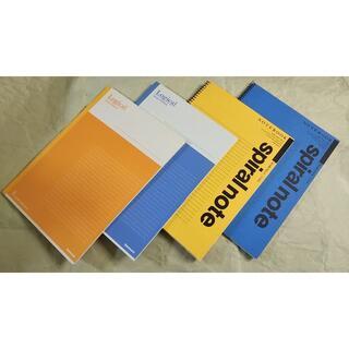 マルマン(Maruman)のノート B5 計4冊(ノート/メモ帳/ふせん)