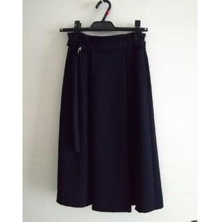 クミキョク(kumikyoku(組曲))の【美品】組曲 スカート ネイビー S1サイズ(ひざ丈スカート)