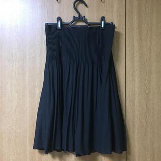 コムサイズム(COMME CA ISM)のコムサイズム スカート 美品(ひざ丈スカート)