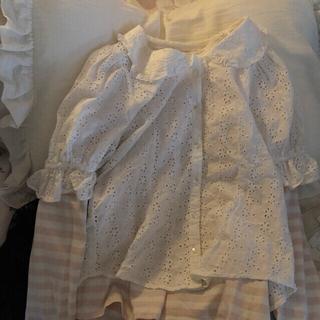 NICE CLAUP - lace blouse nice crap🤍