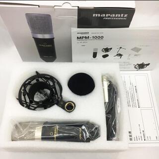 オーディオテクニカ(audio-technica)のマランツプロ コンデンサーマイク MPM1000 XLRケーブル付属(マイク)