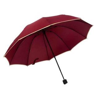 超人気!折り畳み傘 10本骨 メンズ 親骨約65cm(傘)