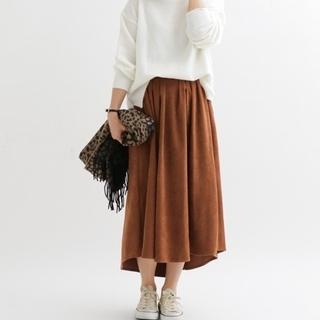 サニーレーベル(Sonny Label)のSonny Label 裾ラウンドタックスカート(ロングスカート)