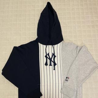 シュプリーム(Supreme)のKITH MLB YANKEES HOME RUN HOODIE M(パーカー)