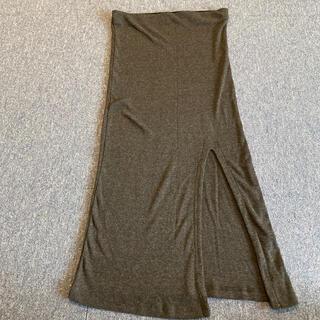 ベルシュカ(Bershka)のベルシュカ タイトスリットスカート サイズS  26(ひざ丈スカート)