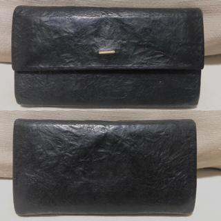 イロセ(i ro se)のpaper long wallet ブラック 長財布 irose イロセ(長財布)
