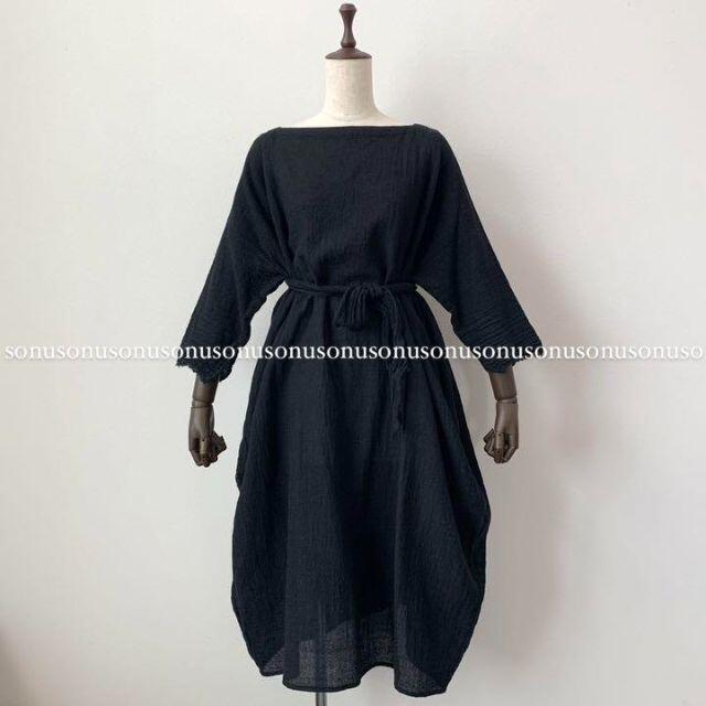 Paul Harnden(ポールハーデン)のDANIELA GREGISダニエラ グレジス ウール ドレス ワンピース レディースのワンピース(ひざ丈ワンピース)の商品写真