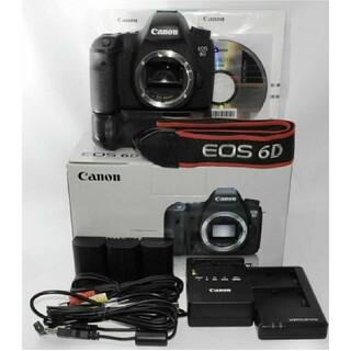 Canon - Canon EOS 6D ボディ + Battery Grip