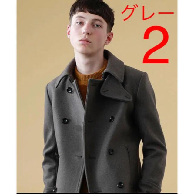 ATTACHIMENT(アタッチメント)のATTACHMENT カシミヤ混 pコート 2 メンズのジャケット/アウター(ピーコート)の商品写真